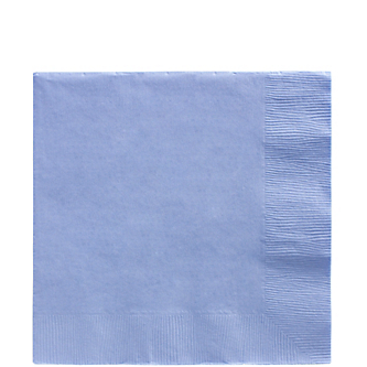 Napkin Lunch Pastel Blue