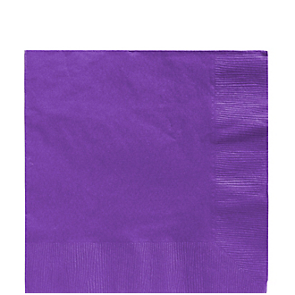 Napkin Lunch Purple