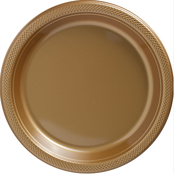 "Plate 10.25"" Gold"