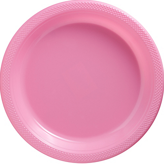 "Plate 10.25"" New Pink"