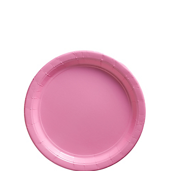 "Plate 7"" New Pink"