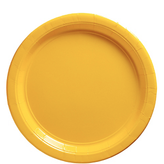 "Plate 9"" Sunshine Yellow"