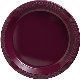 "Plate Pl 10.25"" Berry"