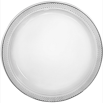 "Plate Pl 10.25"" Clear"