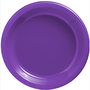 "Plate Pl 10.25"" Purple"