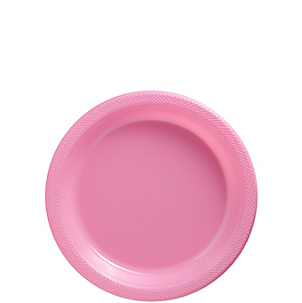 "Plate Pl 7"" New Pink"