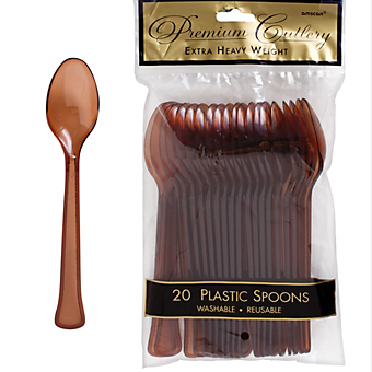 Spoon 20ct Chocolate Brown