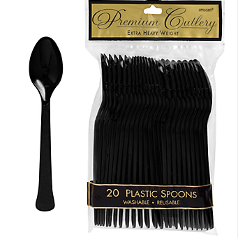 Spoon 20ct Jet Black