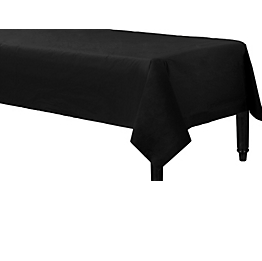 Tablecover  Paper Rectangle Jet Black