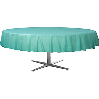 Tablecover  Plastic Round Robin Egg