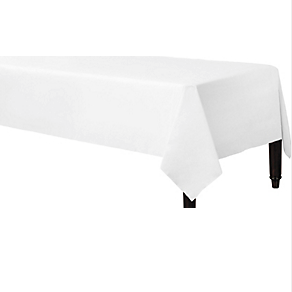 Tablecover Fabric Frosty White