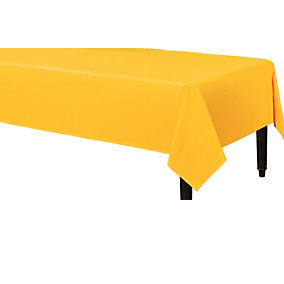Tablecover Fabric Sunshine Yellow