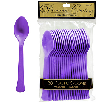 Spoon 20ct Purple