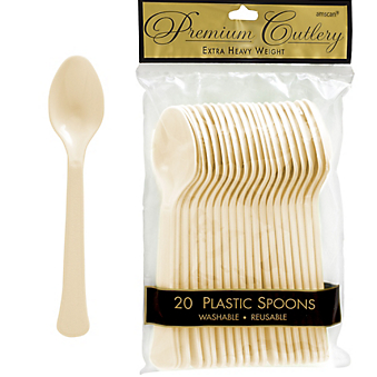 Spoon 20ct Vanilla Creme