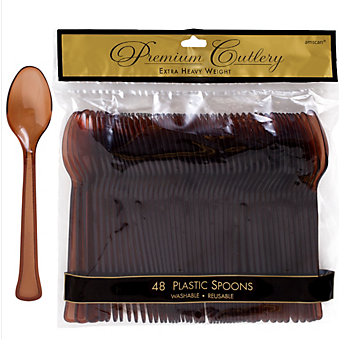 Spoon 48ct Chocolate Brown