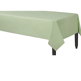 Tablecover Plastic Rectangle Leaf Green