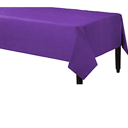 Tablecover Plastic Rectangle Purple