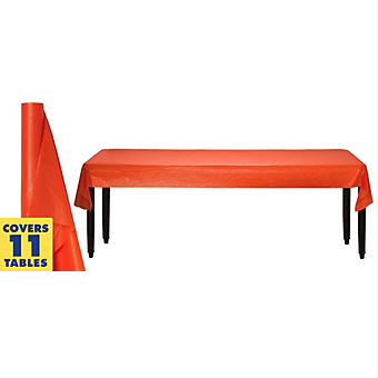 Tablecover Plastic Roll Orange Peel