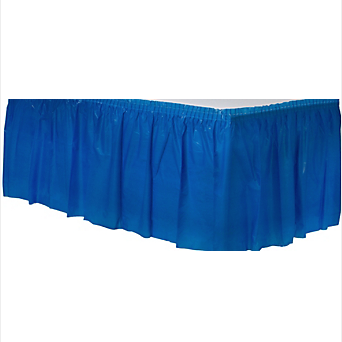 Tableskirt Bright Royal Blue