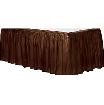Tableskirt Chocolate Brown