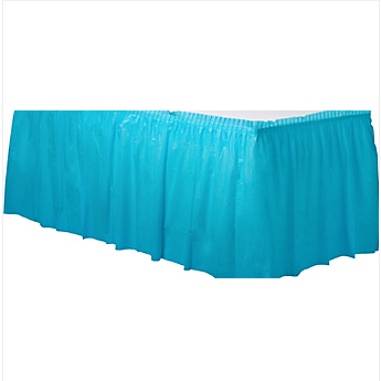 Tableskirt Caribbean Blue