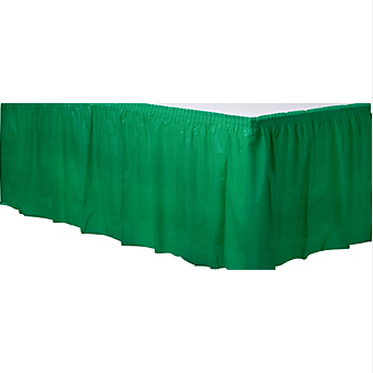 Tableskirt Festive Green