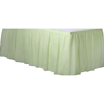 Tableskirt Leaf Green