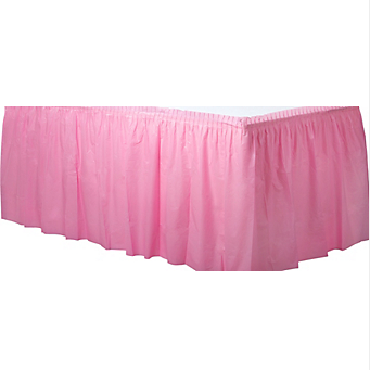 Tableskirt New Pink