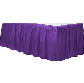 Tableskirt Purple