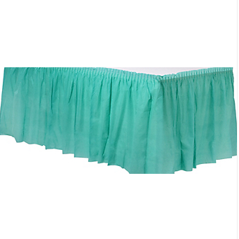 Tableskirt Robin Egg Blue