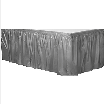 Tableskirt Silver