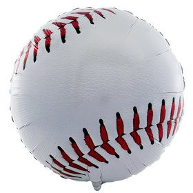 "18"" Mylar Baseball (Empty) #003"