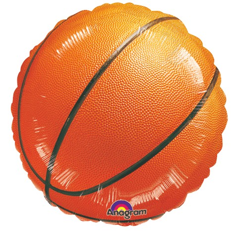 "18"" Mylar Basketball (Empty) #004"
