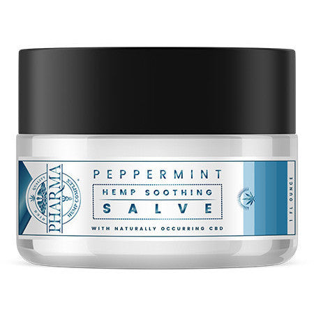 CBD Soothing Salve-Peppermint