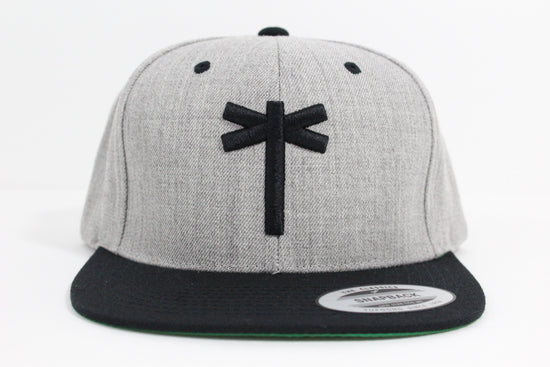 PalmEraMia Heather Classic Snapback - Gray