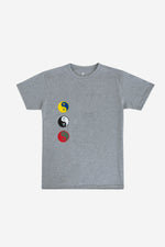 PalmEraMia Ying Yang Heather Tee
