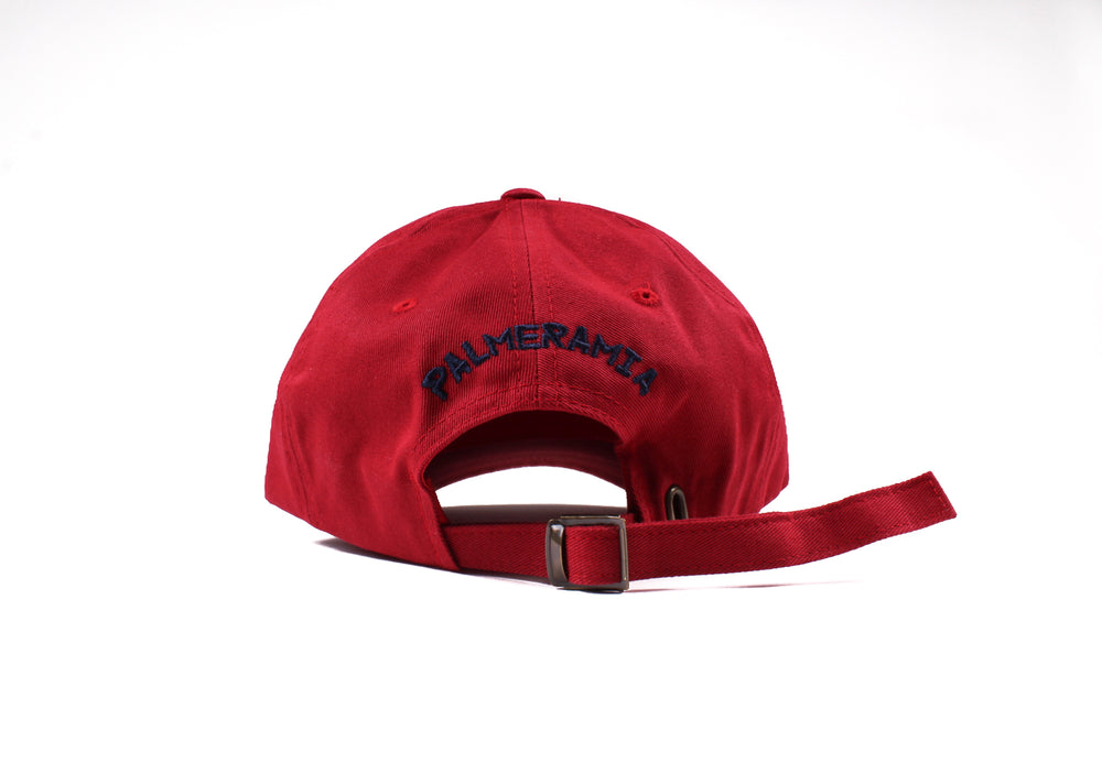 PalmEraMia Cranberry / Navy Dad Cap