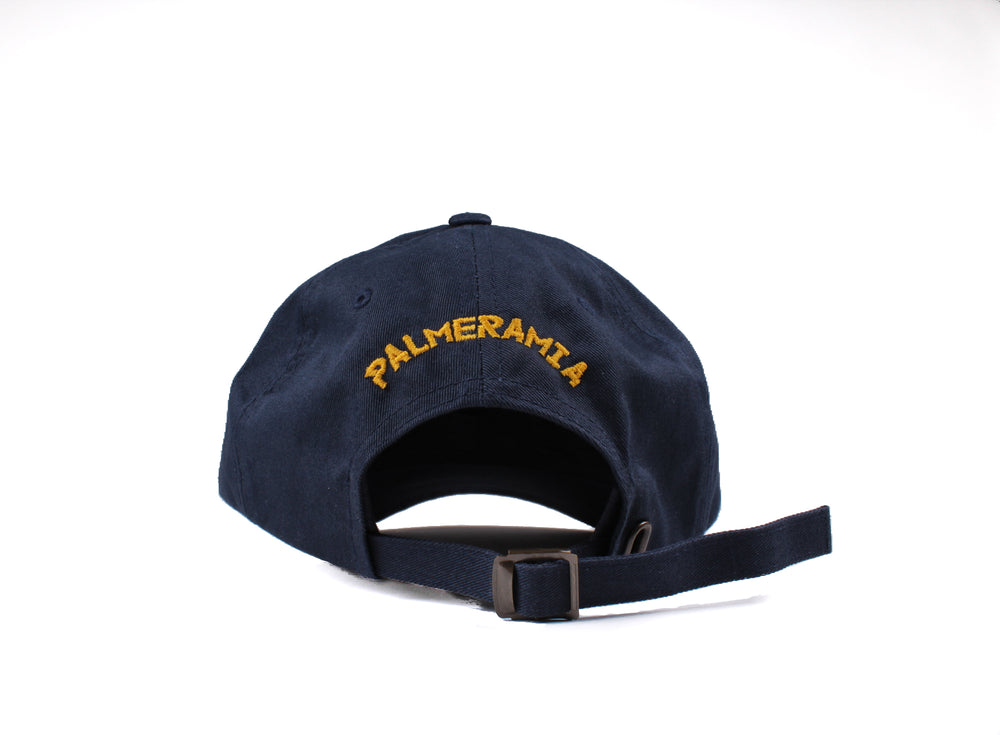 PalmEraMia Navy / Yellow Gold Dad Cap