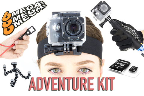 6Mega Action Camera Bundle (1080p or 4K)