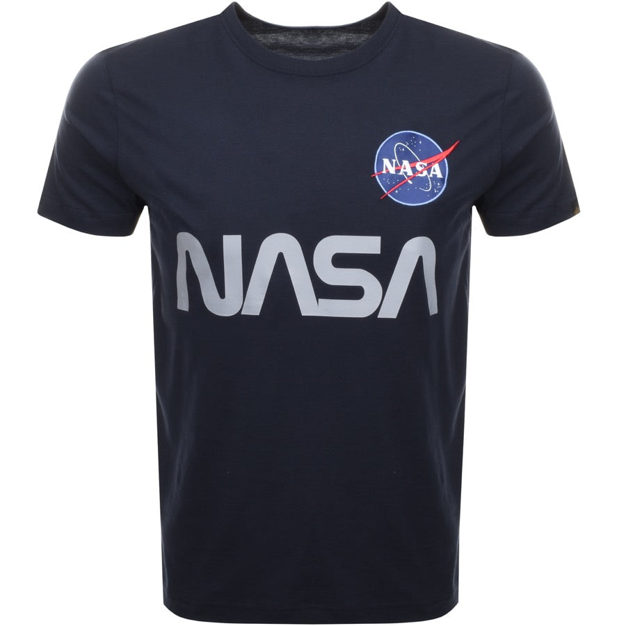 NASA Reflective T (Rep. blue) | Alpha Industries - & BLANC