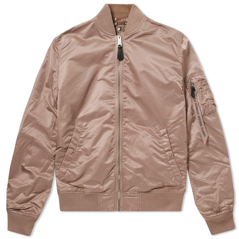 MA-1 VF LW REVERSIBLE JACKET MAUVE & DESERT CAMO | Alpha Industries - & BLANC