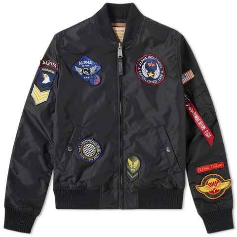 MA-1 TT Patch ll Jacket Black | Alpha Industries