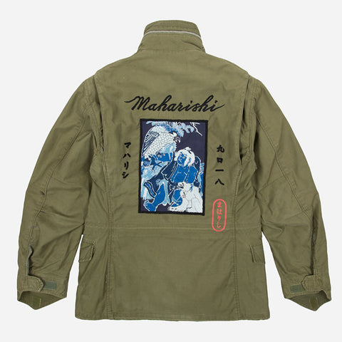 Upcycled US Army M65 Jacket | MAHARISHI - & BLANC