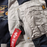 Japan Dragon Navy Jacket | Alpha Industries