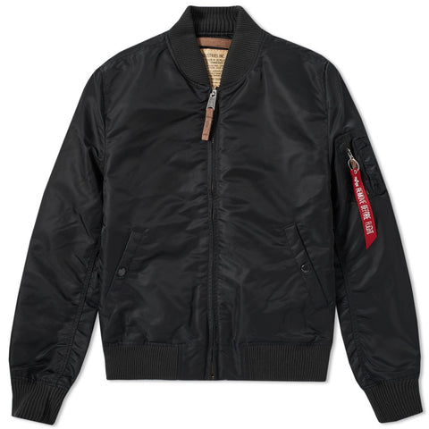 MA-1 VF59 Black Jacket | Alpha Industries - & BLANC