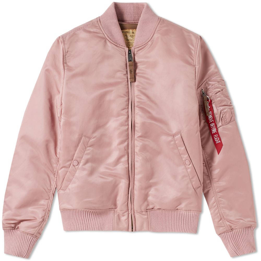 MA-1 VF59 Silver Pink | Alpha Industries - & BLANC