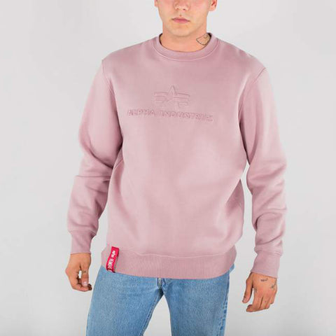 3D Sweatshirt Silver Pink | Alpha Industries
