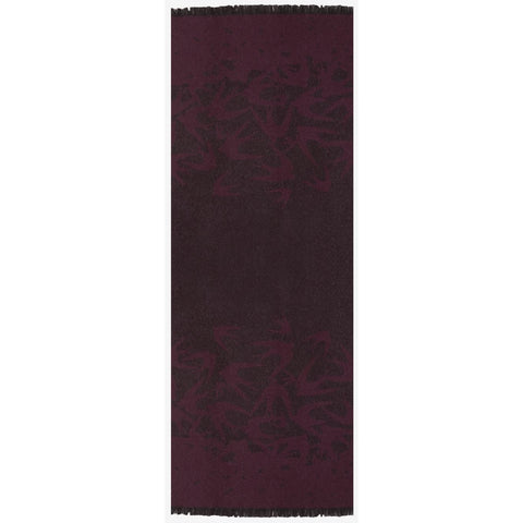 Signature Swallow Dégradé Scarf Dark red | McQ Alexander McQueen - &BLANC - 1