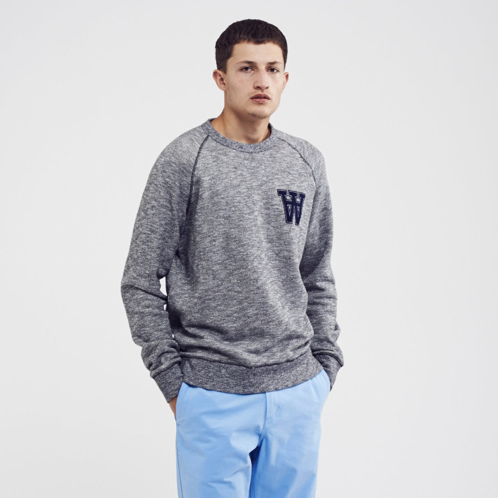 James Sweatshirt | Wood Wood - & BLANC