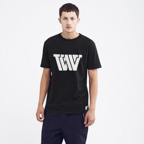 VVV T-Shirt Black | Wood Wood - & BLANC